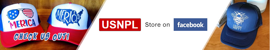 USNPL Store on Facebook - Check us out!